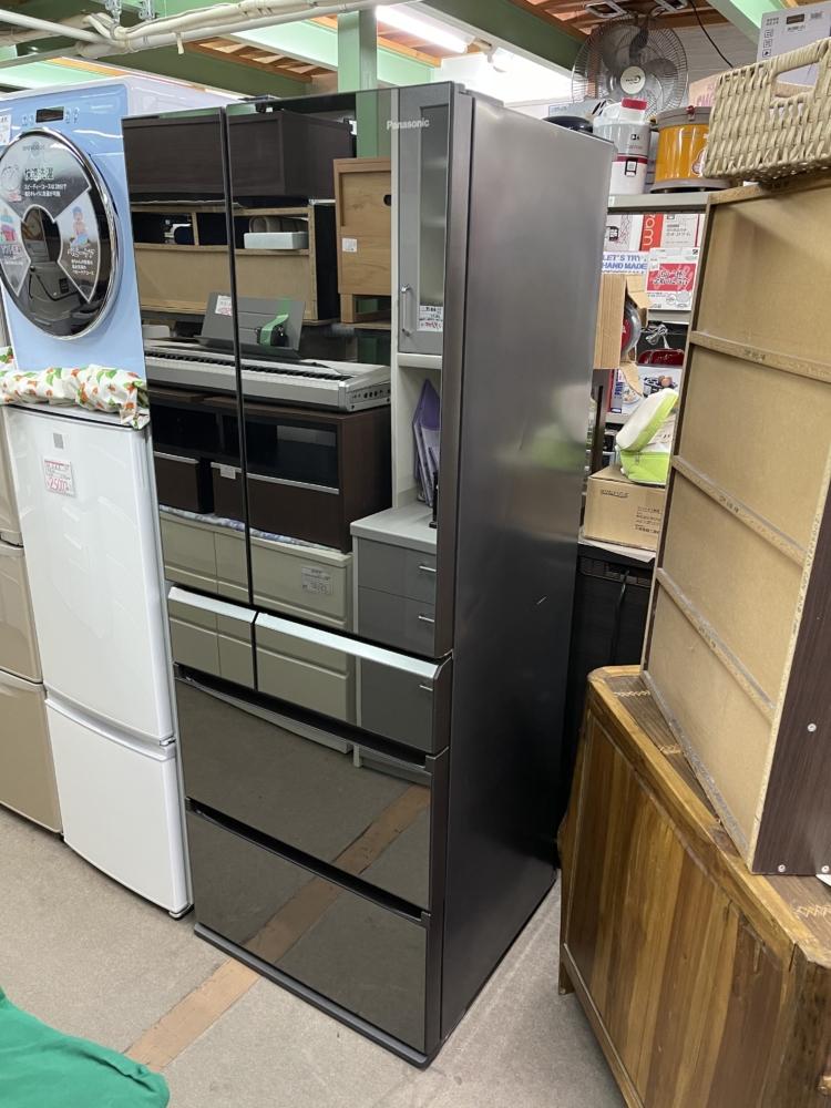 500L冷蔵庫買い取りいたしました NR-F502XPV-X Panasonic
